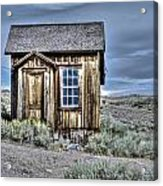 Shack At Bodie Acrylic Print