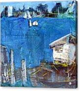 Shack On The Bay Acrylic Print