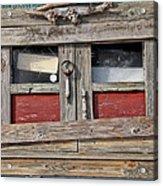 Shack Window Acrylic Print