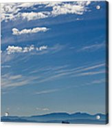 Blue Skies And Bluer Seas Acrylic Print