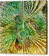Shades Of Green Acrylic Print