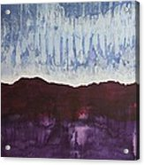 Shades Of New Mexico Original Painting Acrylic Print