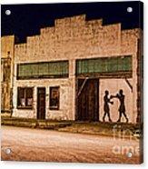 Shadow Boxing Acrylic Print by Gary Holmes