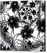 Shadow Flowers Acrylic Print
