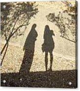 Shadow Friends Acrylic Print