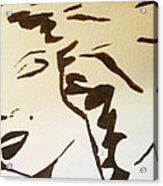Shadow Monroe Acrylic Print