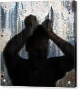 Shadow Of A Man Acrylic Print