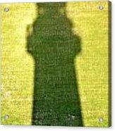 Shadow Of Tybee Lighthouse Acrylic Print