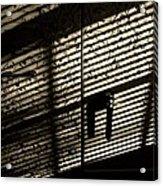 Shadow Patterns Acrylic Print