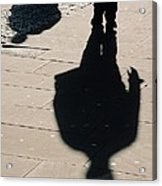 Shadow People In London # 2 Acrylic Print
