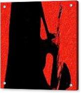 Shadow Sax Acrylic Print