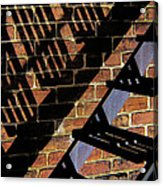 Shadow Walker Acrylic Print