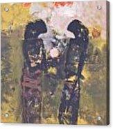 Shadows II By Bagong Kussudiardja Acrylic Print