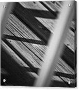Shadows Of Carpentry Acrylic Print