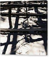 Shadows On Table Mountain Acrylic Print
