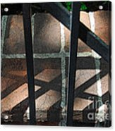 Shadows Through The Gate Acrylic Print