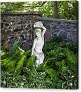 Shady Perennial Garden Acrylic Print