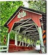 Shafer Covered Bridge Acrylic Print