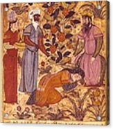 Shahnameh. The Book Of Kings. 16th C. A Acrylic Print