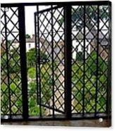 View Through Shakespeare's Window Acrylic Print