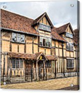 Shakespeare's Birthplace Acrylic Print by Trevor Wintle
