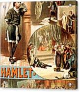 Shakespeare's Hamlet 1884 Acrylic Print