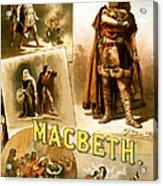 Shakespeare's Macbeth 1884 Acrylic Print