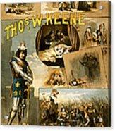 Shakespeare's Richard IIi 1884 Acrylic Print