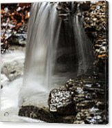Shale Creek Waterfall Acrylic Print