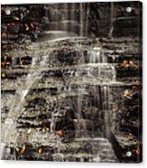 Shale Waterfalls Cascade Acrylic Print