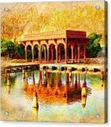 Shalimar Gardens Acrylic Print by Catf