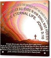 Jesus, Cross 117 Acrylic Print