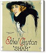 Sham Acrylic Print