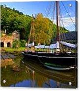Shamrock Barge Acrylic Print