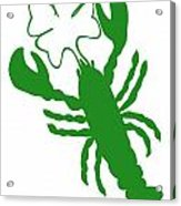 Shamrock Lobster With Feelers 458 20120114 Acrylic Print