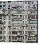 Shanghai Homes Acrylic Print