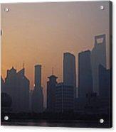 Shanghai In Early Morning Acrylic Print