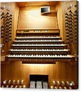 Shanghai Organ Console Acrylic Print