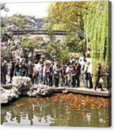 Shanghai Yuyuan Garden Acrylic Print