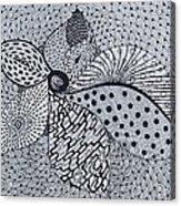 Shangrila Acrylic Print by Ankeeta Bansal