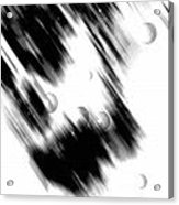 Shape Of The Rain Acrylic Print
