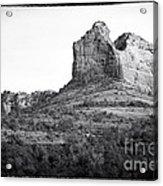 Shapes Of Oak Creek Canyon Acrylic Print