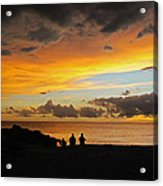 Sharing A Sky Acrylic Print