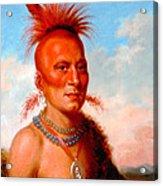 Sharitarish. Wicked Chief. Pawnee Acrylic Print
