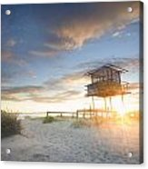 Shark Tower 2 Acrylic Print by Steve Caldwell