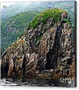 Sharp Jagged Rocks  Acrylic Print