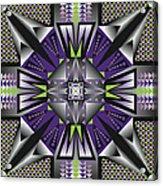 Sharp Tile Art D Acrylic Print