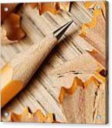 Sharpened Pencil Acrylic Print