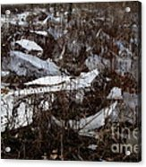 Shattered Field Acrylic Print