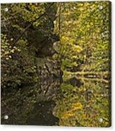 Shawnee Fall Reflection Acrylic Print